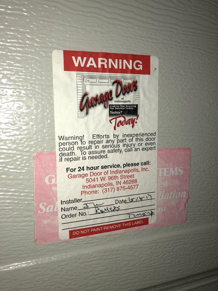Garage Doors Of Indianapolis