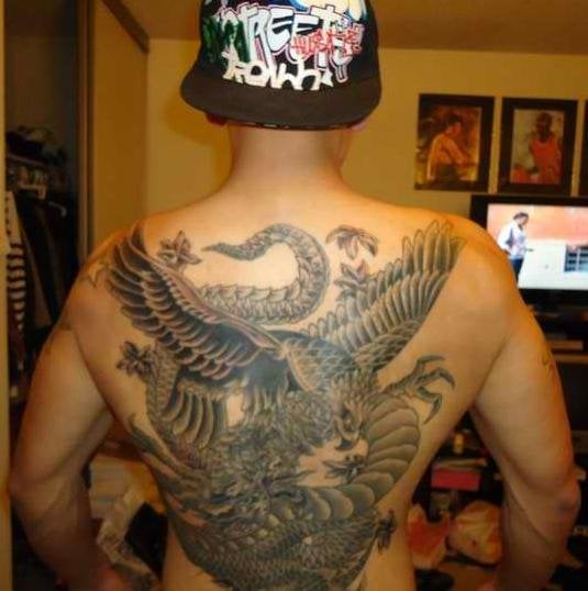 philippine eagle and dragon by jd yelp rh yelp com Filipino Tribal Warrior Tattoos Ancient Filipino Tribal Tattoos