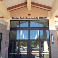 Winter park community center community service non profit 721 w new england ave winter park for Winter garden recreation center