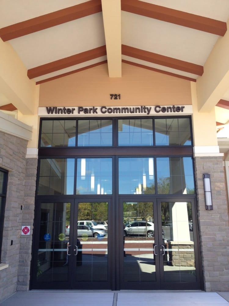 Main entrance yelp for Winter garden recreation center