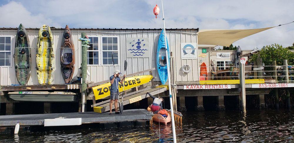 Zoffinger's Kayak Rentals: 1510 River Dr SW, Ruskin, FL