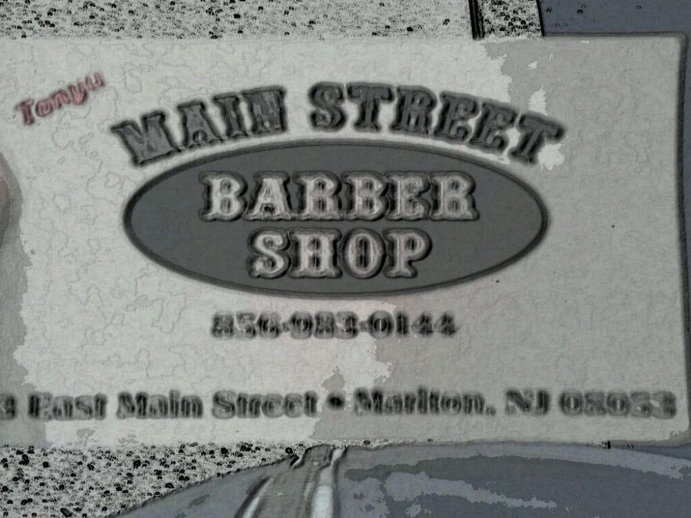 Main Street Barber Shop: 3 E Main St, Marlton, NJ