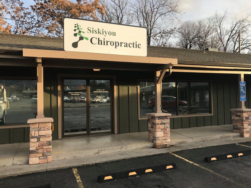 Siskiyou Chiropractic and Massage: 700 S Main St, Yreka, CA
