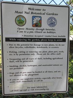 Maui Nui Botanical Gardens 150 Kanaloa Ave Kahului, HI Botanical Gardens    MapQuest