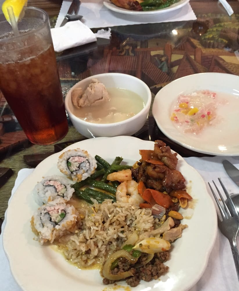 yum! lunch buffet at thai kitchen. - yelp
