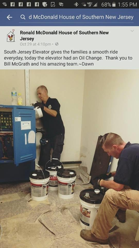 South Jersey Elevator - Elevator Services - 1001 Lower