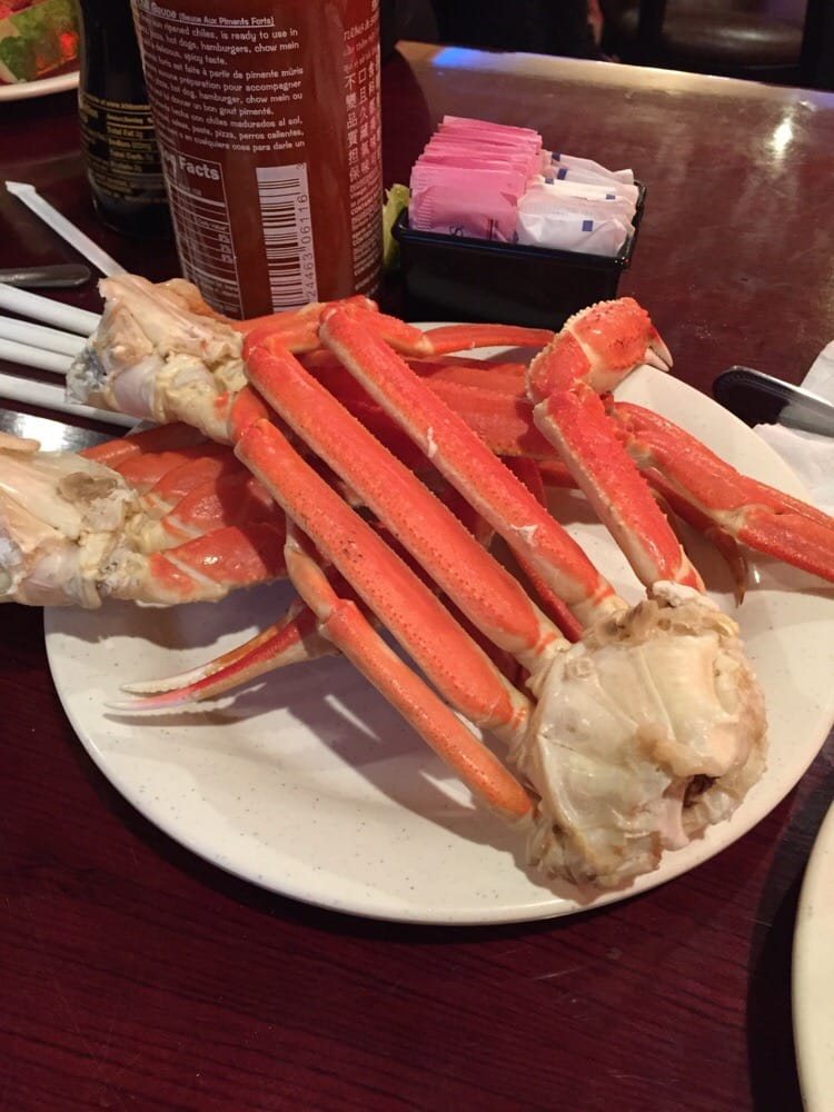 All you can eat crab legs