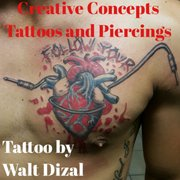 Photo Of Creative Concepts Tattoos And Piercings Pasadena Tx United States