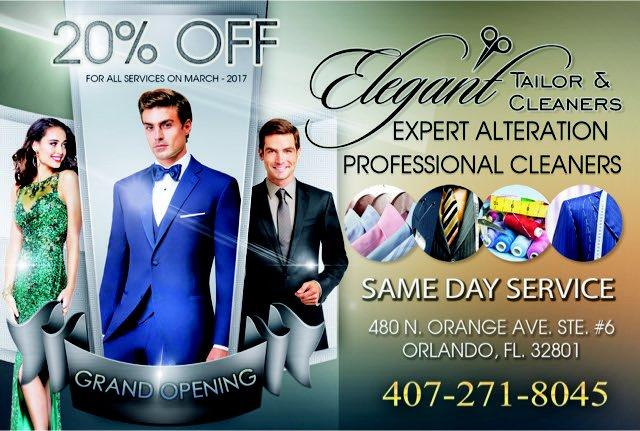 Elegant Tailor & Cleaners