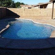 Stamped Concrete Photo Of Artesian Pools And Spas Yuma Az United States Standard Pool