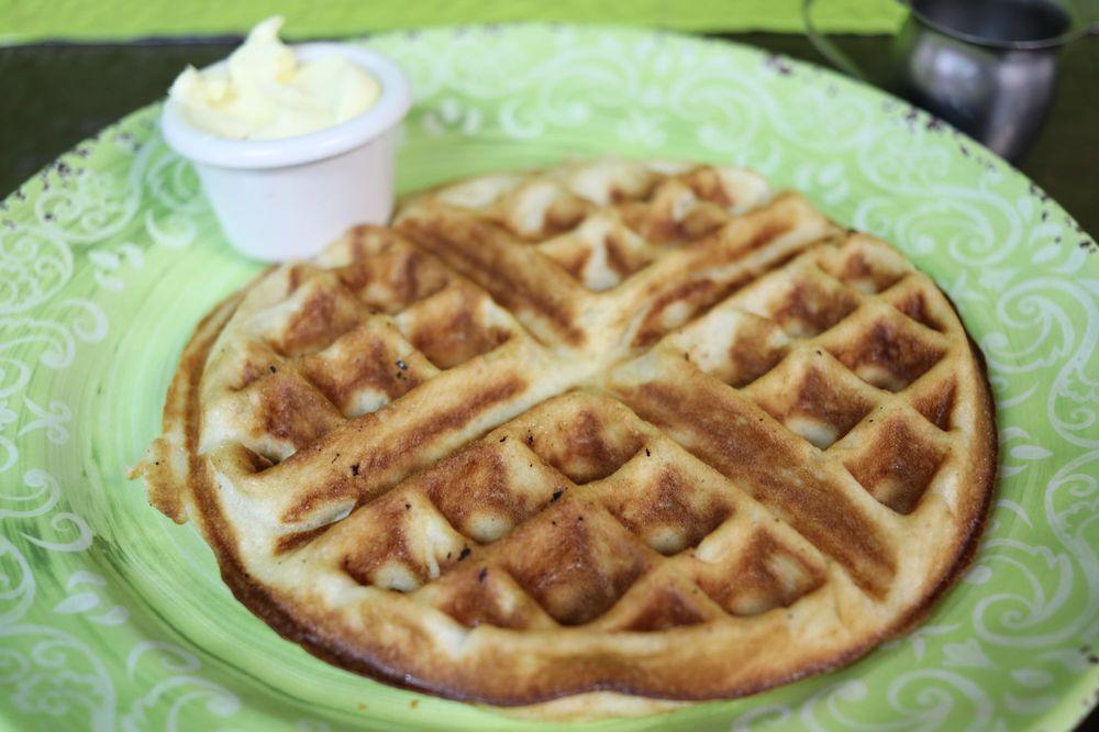 Waffles on Maple