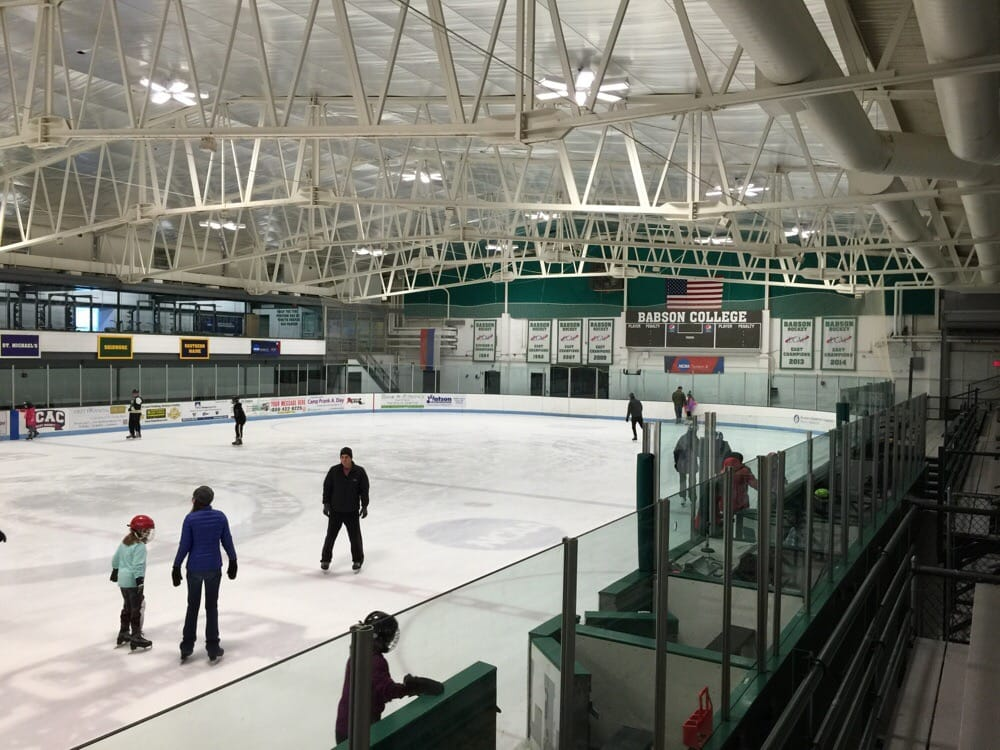 Babson Skating Center Skating Rinks Wellesley Ma