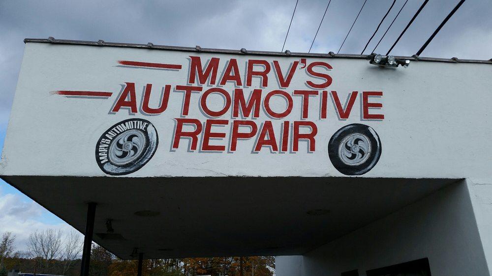 Marv's Service Station: 2 N Main St, Ellenville, NY
