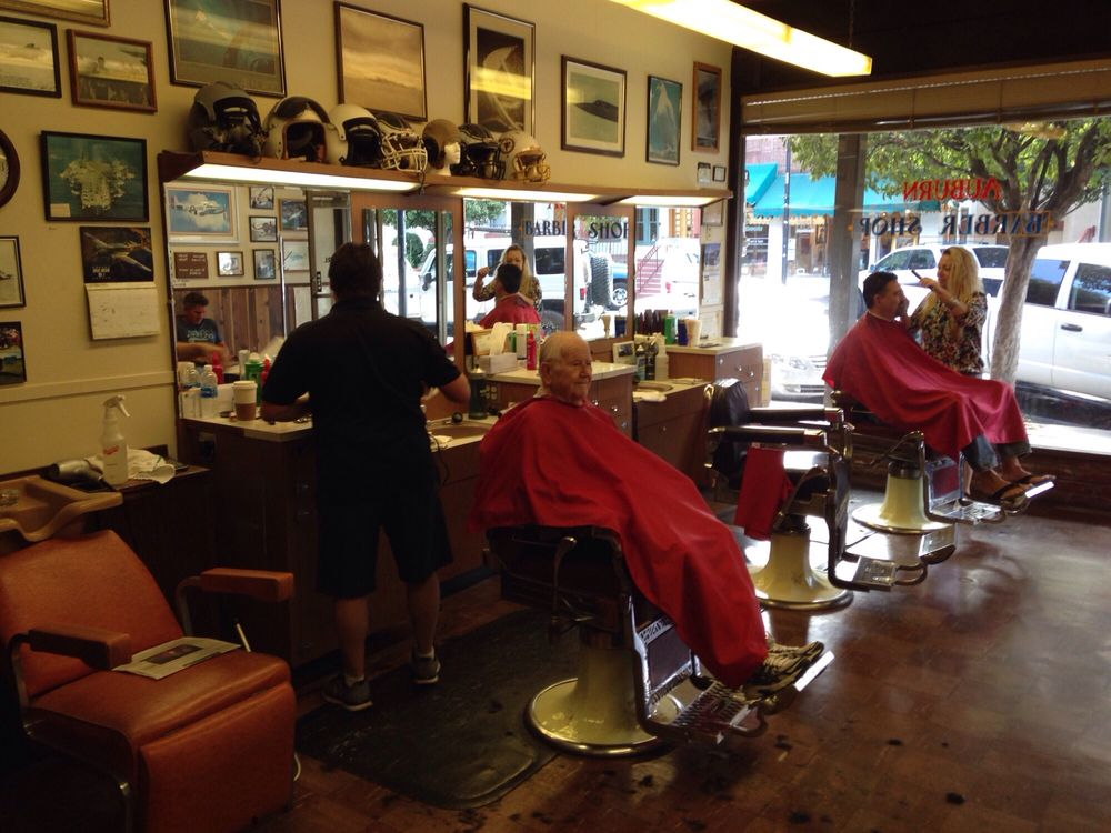 Auburn Barber Shop: 860 Lincoln Way, Auburn, CA