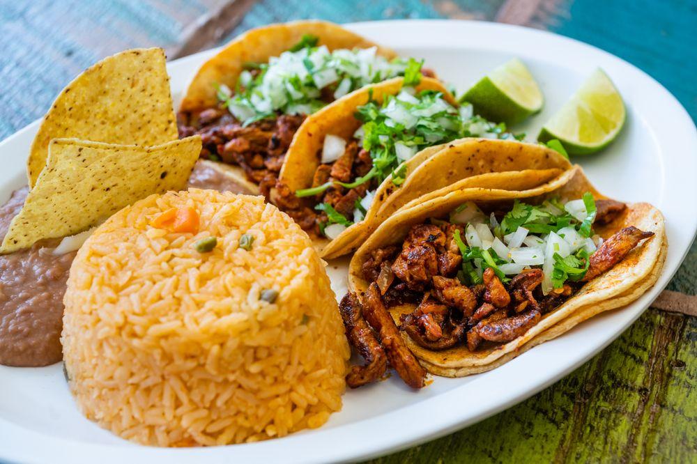 Food from Sabroso Burrito