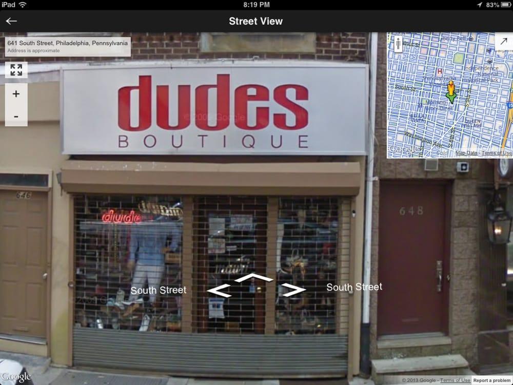 Dudes boutique philadelphia pa