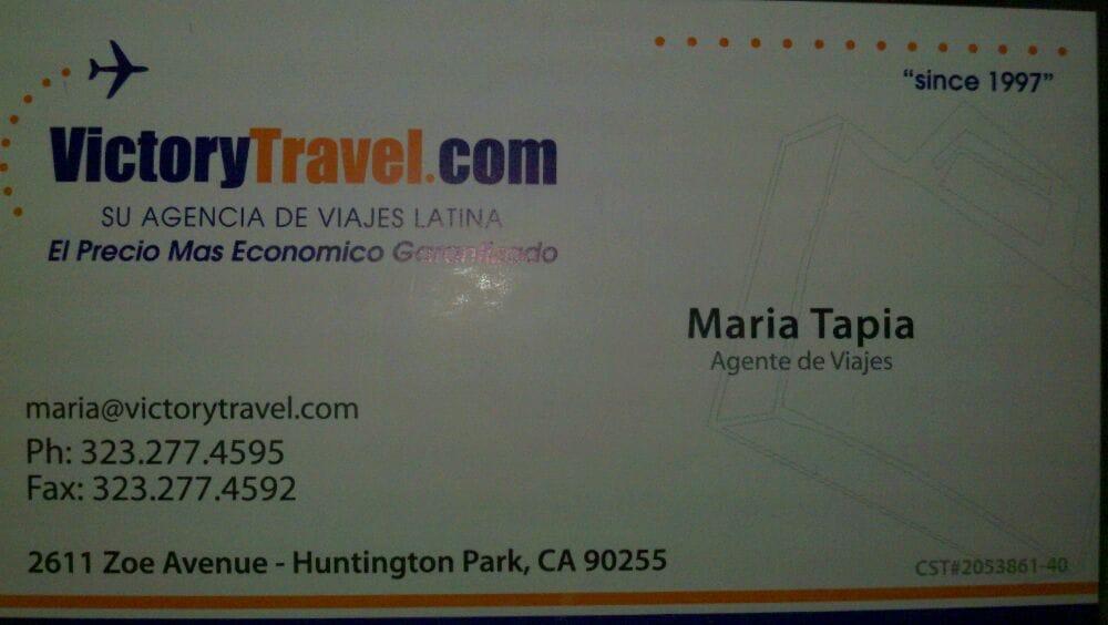 Victory Travel: 2611 Zoe Ave, Los Angeles, CA