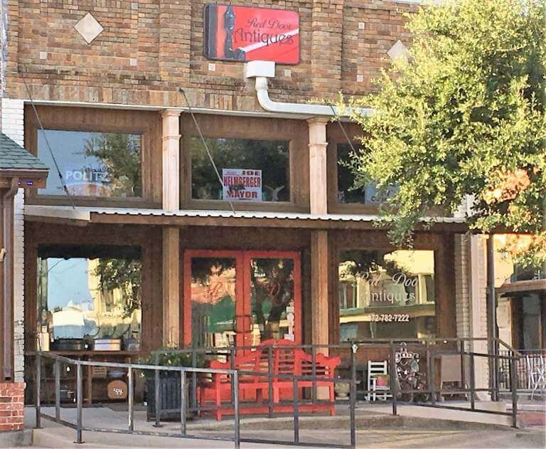 Red Door Antiques: 100 McKinney St, Farmersville, TX