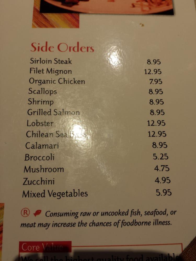 Side Orders Yelp