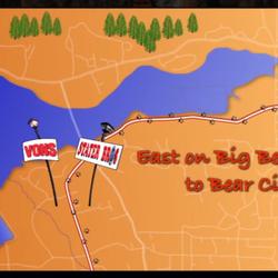 Miles mountain firewood legna da ardere 1000 w big for Cabine di noleggio in big bear ca