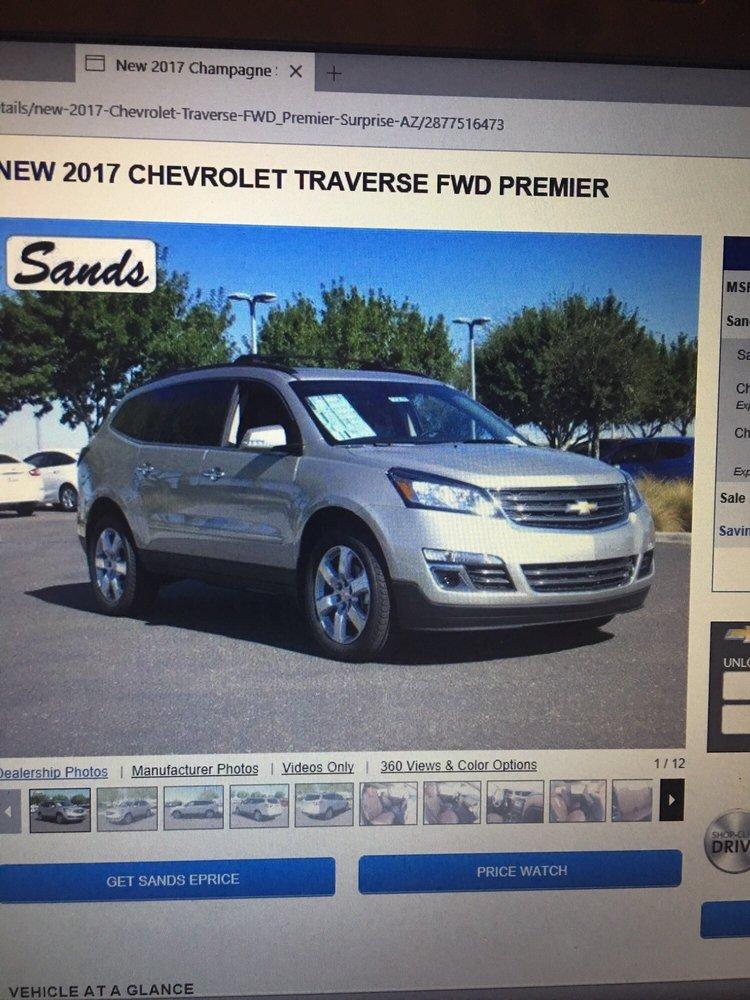 Sands Chevrolet Surprise Az >> Photos For Sands Chevrolet Surprise Yelp