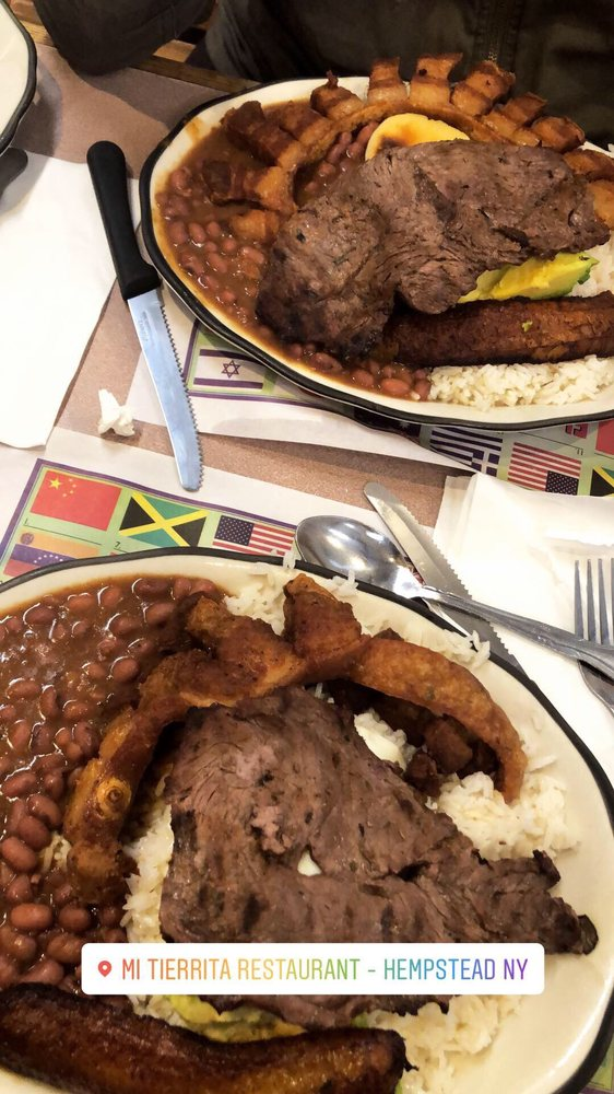 Food from Mi Tierrita Restaurant