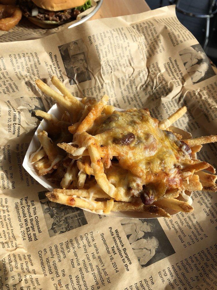 Wayback Burgers: 1725 Northpark Blvd W, San Bernardino, CA