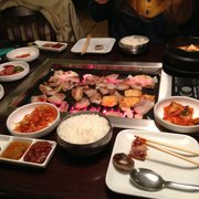Seoul garden 56 photos 78 reviews korean 5318 w for Fish market greensboro nc