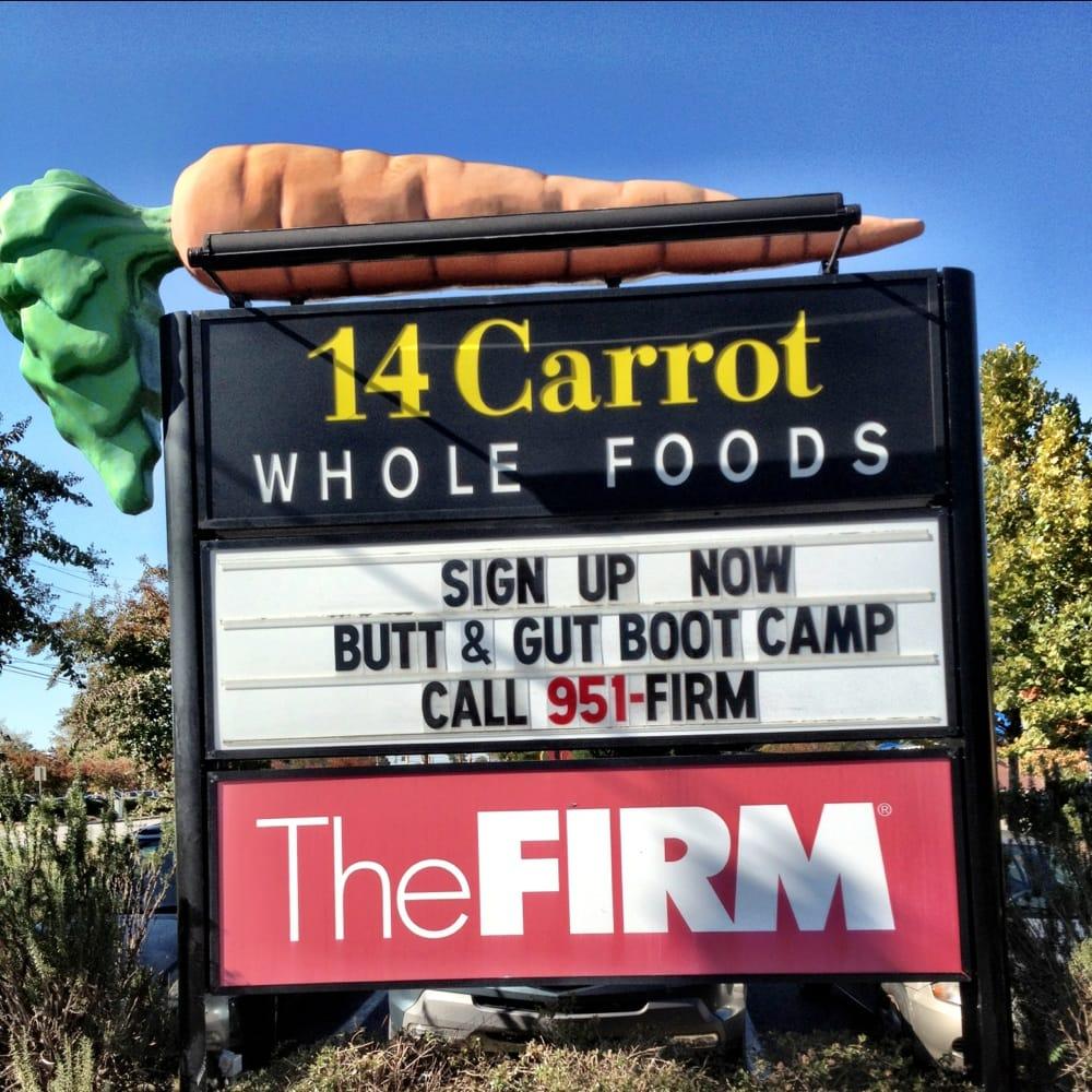 14 Carrot Whole Foods: 5300 Sunset Blvd, Lexington, SC