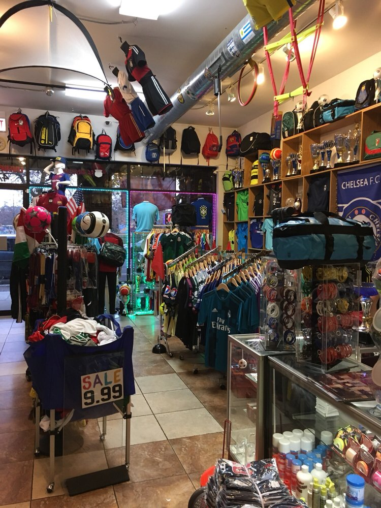 timeless design 2bdb3 aa9ae This soccer store has everything you need . Met with ...
