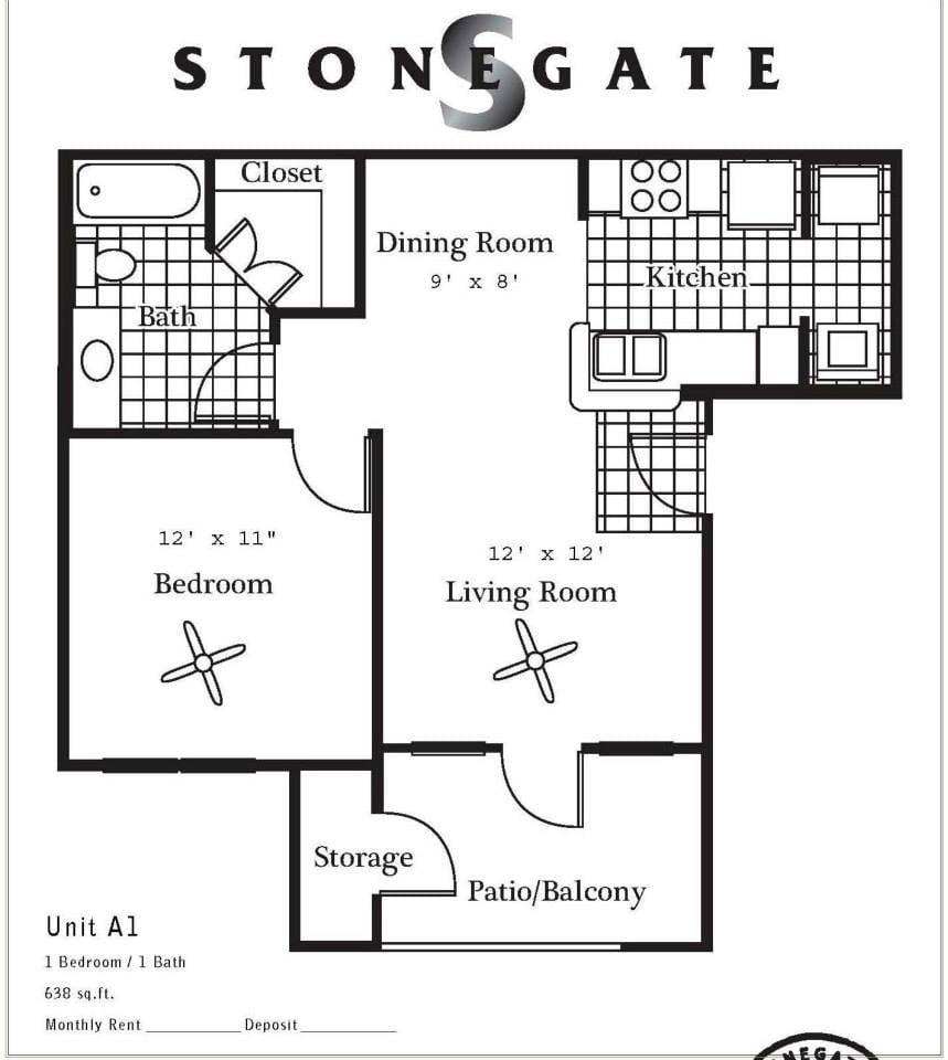 Stonegate Apartments: 705 Kings Way, Del Rio, TX