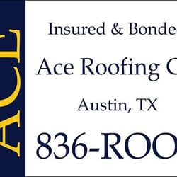 Photo Of Ace Roofing Company   Austin, TX, United States. Call Ace Roofing
