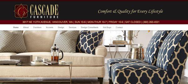 Cascade furniture mobilya ma azalar 3017 ne 112th ave for Furniture vancouver wa