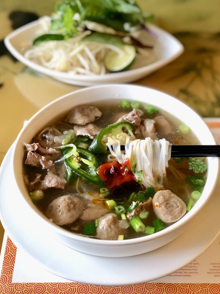 Food from Pho Keizer