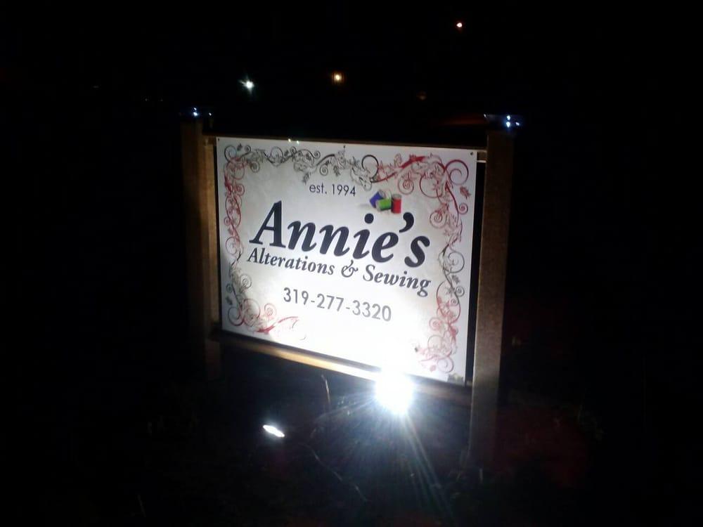 Annies Alterations: 3418 Terrace Dr, Cedar Falls, IA