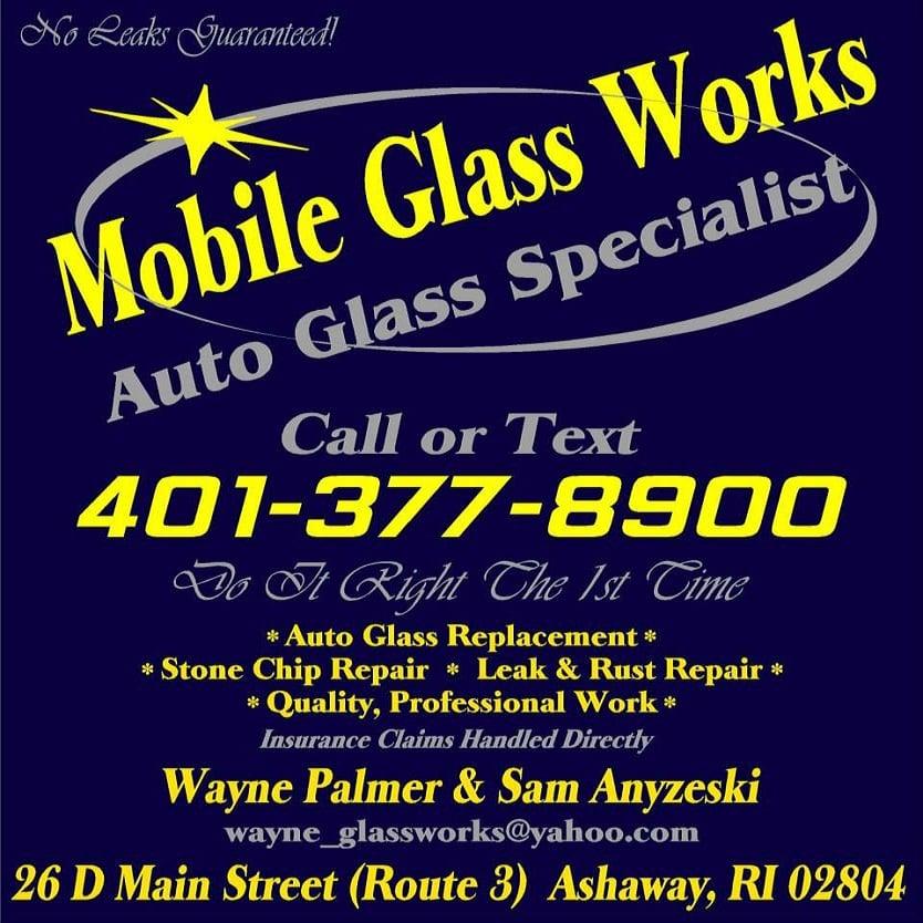 Mobile Glass Works: 26 Main St, Ashaway, RI