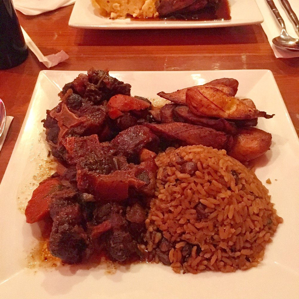 Oxtail, Peas & Rice, Fried Plantains - Yelp