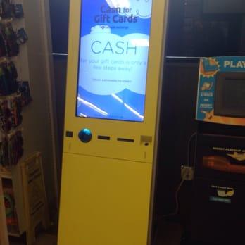 gift card exchange machine locations