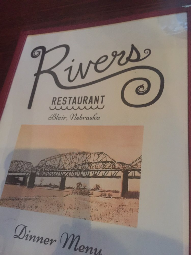 Rivers Restaurant: 1653 Washington St, Blair, NE