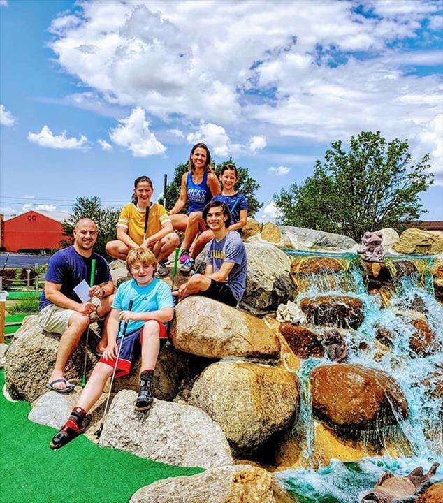 Boulder Falls Mini Golf And BatZone: 3507 N Briarwood Ln, Muncie, IN