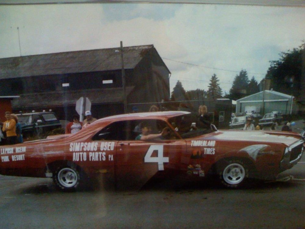 1987 Forks demolition derby car built by USCG Station Quillayite ...