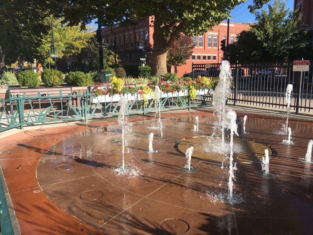Grand Junction Interactive Water Fountain: 248 S Fourth St, Grand Junction, CO