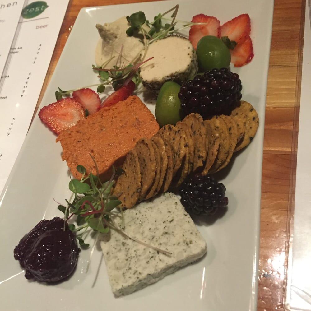 vegan cheese plate! - yelp