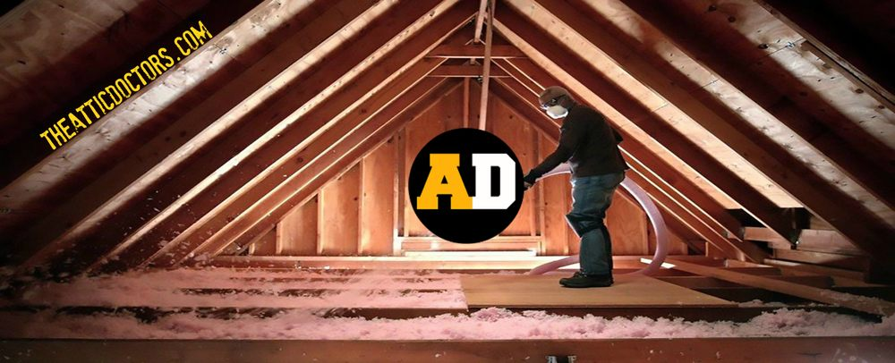 Attic blown in insulation its messy so dont do it yourself yelp photo of the attic doctors fullerton ca united states attic blown in solutioingenieria Gallery