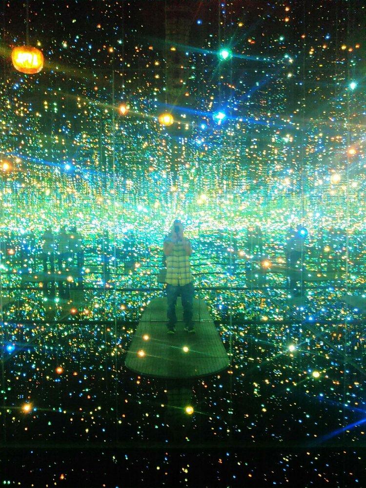 Yayoi Kusama Infinity Room Yelp