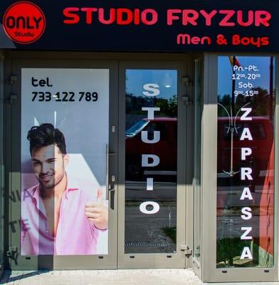 Only Studio Fryzjer Męski Hair Salons Al Rzeczypospolitej 27