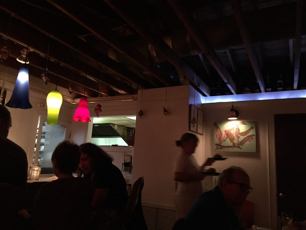 Dinning room small bar yelp for Seven fish key west fl