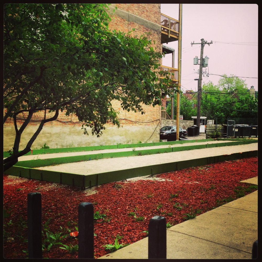 Taylor Street Bocce Courts: Chicago, IL