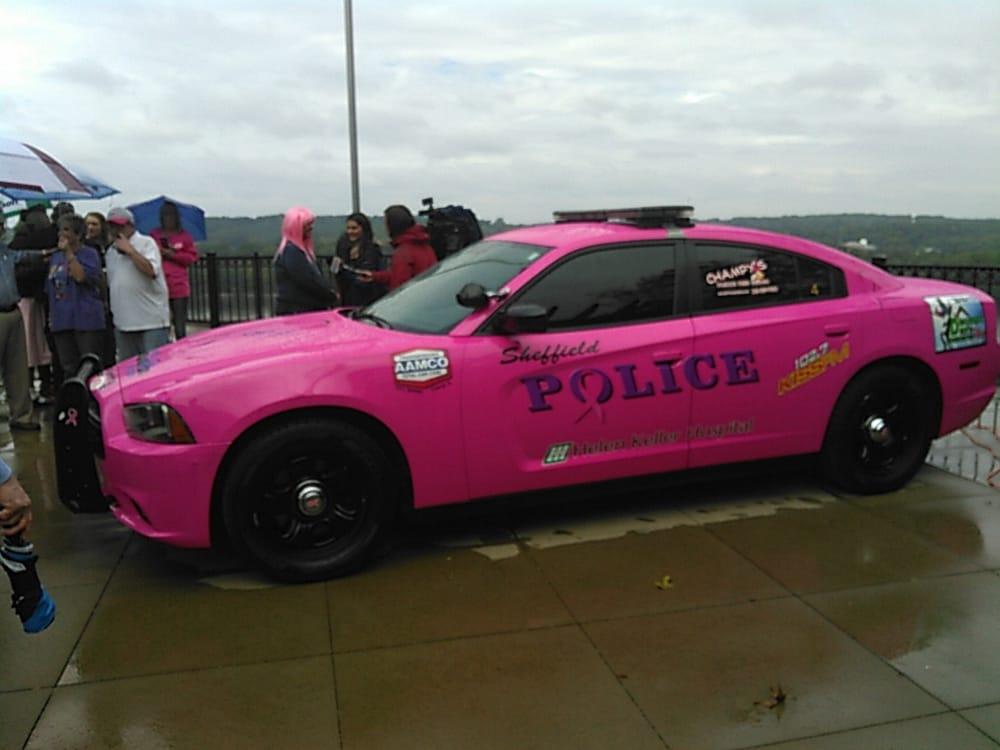 sheffield police cancer awareness car for october yelp. Black Bedroom Furniture Sets. Home Design Ideas