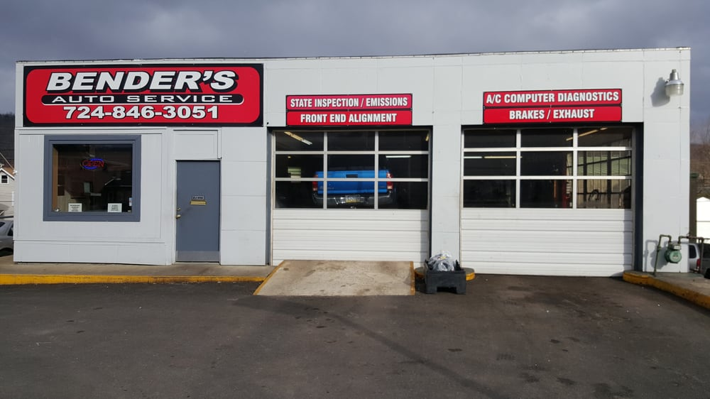 Bender's Auto Service: 1836 7th Ave, Beaver Falls, PA